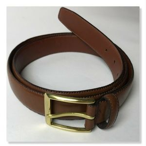 Jos. A Bank Men's Brown Leather Belt Size 40
